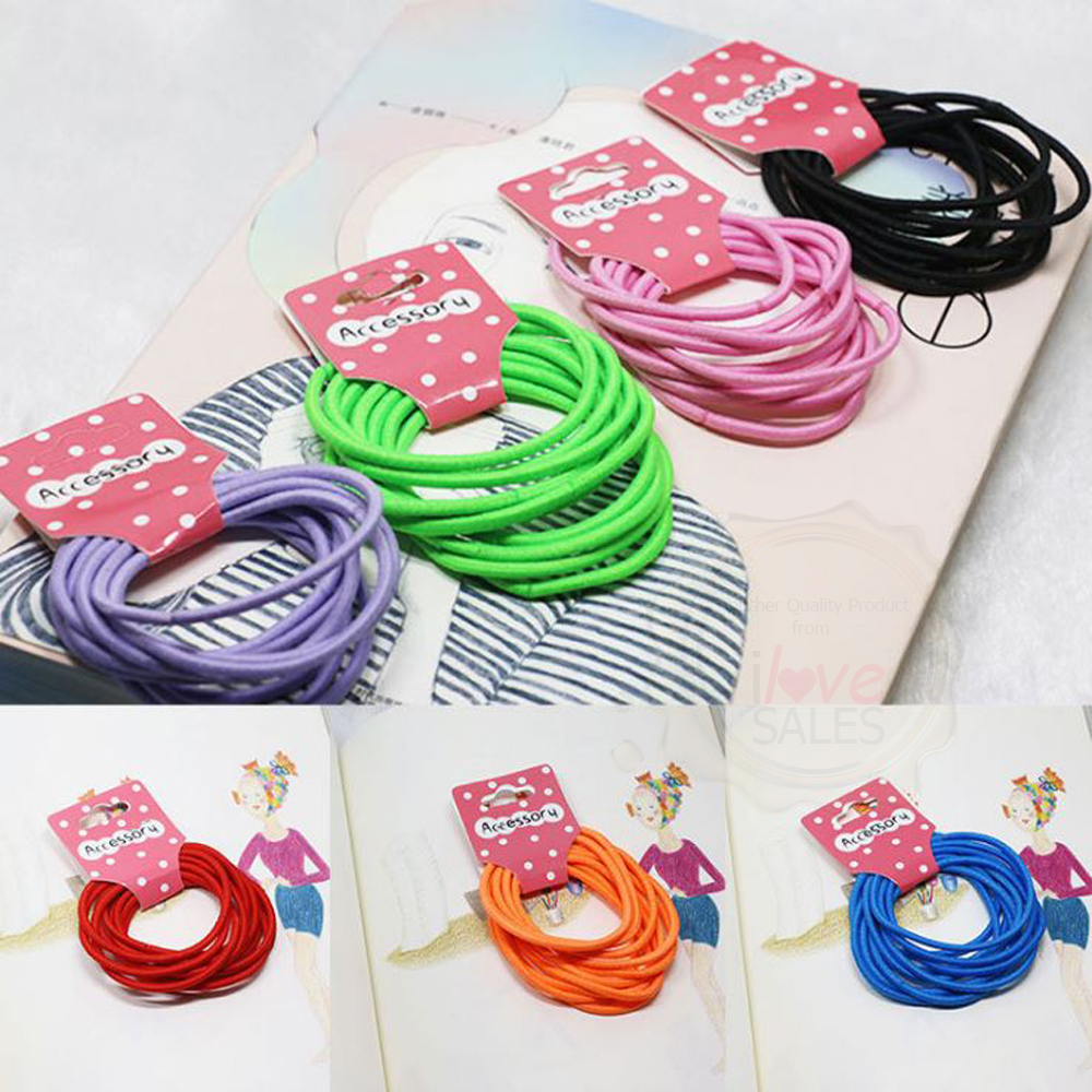 Basic Elastic Hair Ties/ Hair Bands/ Hair Accessories