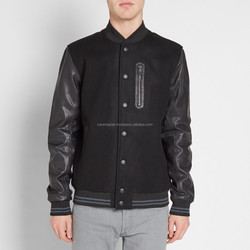cheap black plain couple hoodie bomber duck down feather jacket for the winter men/ dear lover clothing