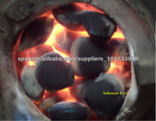 Barbeque Coconutshell Charcoal Briquette