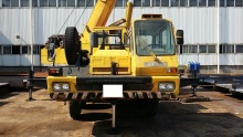 used crane 1992Y Samsung Tadano 50 ton truck Crane for Sale SC50H-2 in Korea