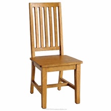 Industrial Solid Mango Wood Dining Chair, Restaurant Wooden Chair
