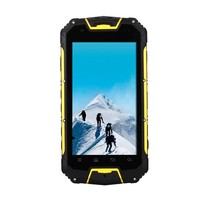 waterproof phone android 4.2 MTK6589 quad core 3G smartphone with walkie talkie wireless charger IP68 phone SNOPOW M8+