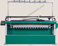 Computerized Flat Knitting Machine Model No-H 100 (Made In India) Full Automatic Seamless Computerized Glove/Low Price HighSpeed