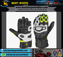 Leather Motorbike Gloves,Leather Racing Motorcycle Gloves,Leather Racer Gloves