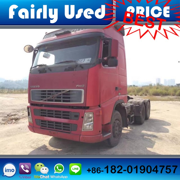 Volvo FH12 tractor truck, used 6x4 Volvo truck head FH12 for sale