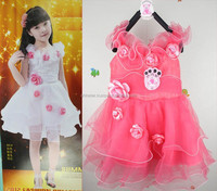 Latest design summer 2015 fashion baby dress