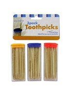 Travel Size Toothpick Containers with Toothpicks