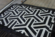 Hair on Cow Leather Carpet - Rugs patchwork Designer and animal print - HAIR ON LEATHER RUGS