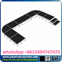 cheap foldable stage made in china,shoes retail store design