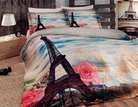 3D PRINT 100% COTTON SATIN BEDDING SET MADE IN TURKEY