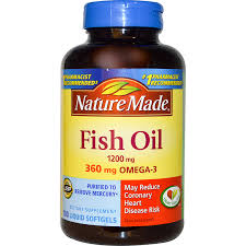 GMP Certified Natural Fish Liver Oil Capsules