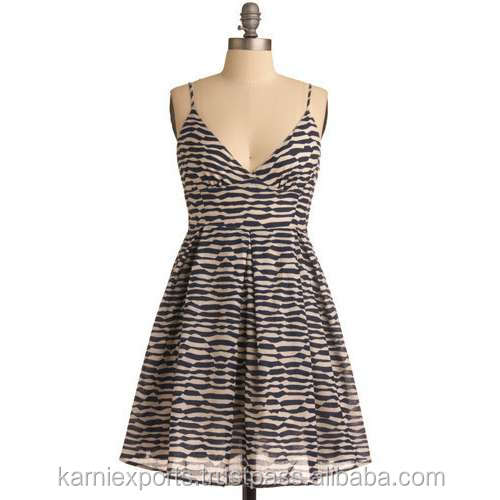 HALTER NECK BEAUTIFUL ANIMAL PRINTED BUST DRESS SLEEVELESS COTTON COCKTAIL PROM DRESS & MINI GOWN