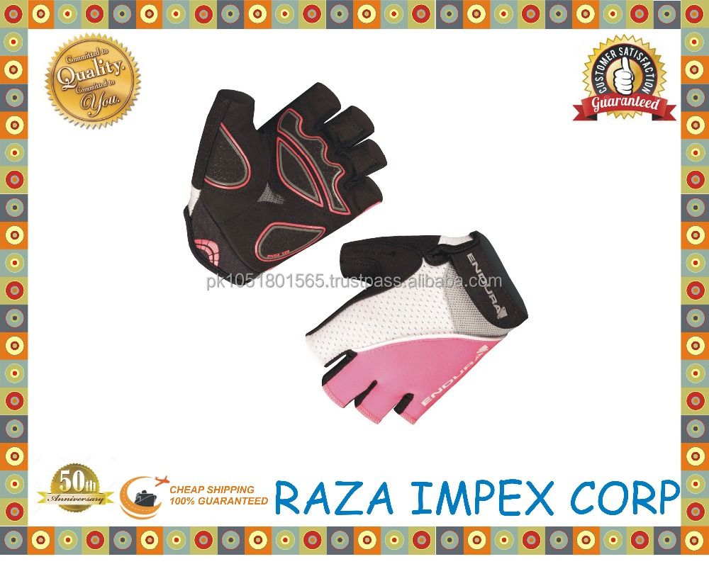 Raza Impex Brand New GEL Half Finger Men Cycling Gloves Slip Mtb Bike/Bicycle Racing Sports Breathable Shockproof