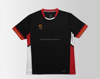 Black / Red / Gold Teamwear Jersey