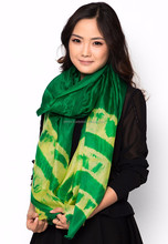 Wholesale Raw Silk Scarf, Fashion Woman Neck Scarf Made in Vietnam