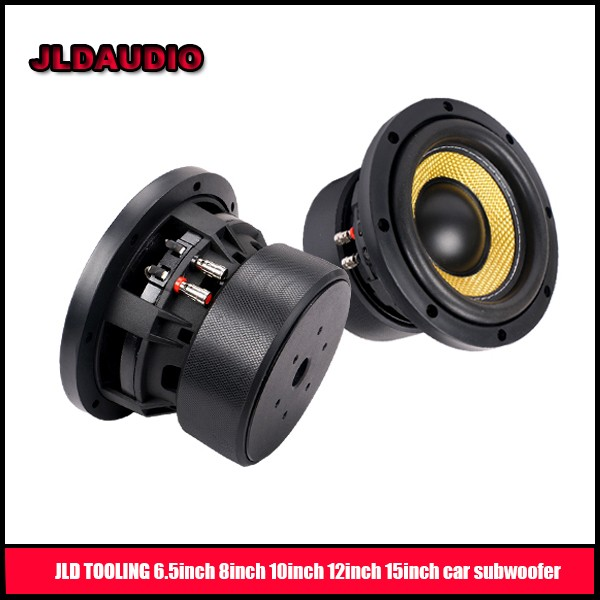 JLDAUDIO 12inch 15inch car subwoofers with 2500rms huge motor powered subwoofer