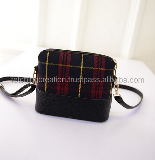 New Designer fashioable women canvas cross body bag
