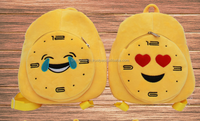 2016 new emoji kids backpack