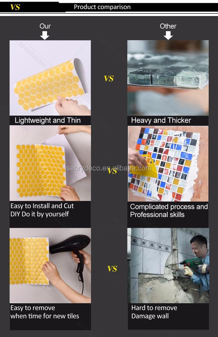 rhombus wall tile