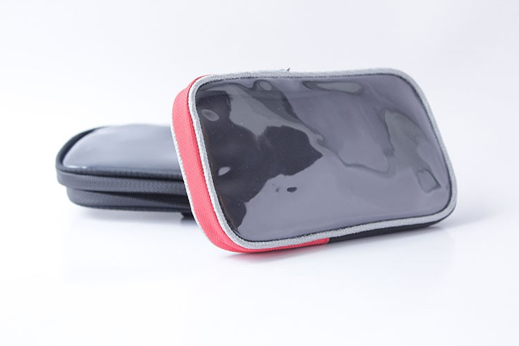 Bicycle Front Tube Waterproof Bike Mobile Phone Bag Clear Window