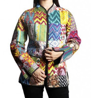 Hand Crafted Vintage Kantha Jackets For Women