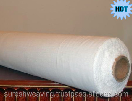 Plain white cotton fabric Roll - White Cotton Combed Fabric Wholesale
