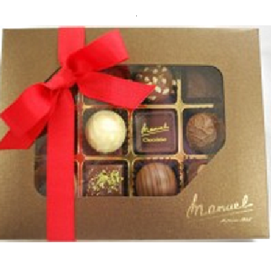 The famous filled chocolates MANUEL - Swiss original handmade chocolate - LAGUNA