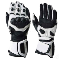 high quality bikers leather gloves