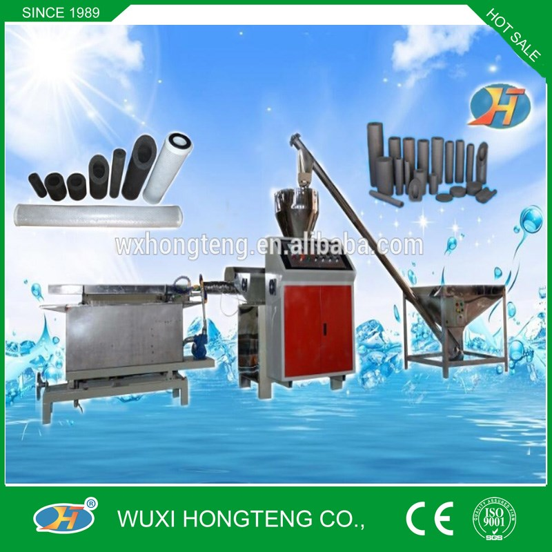 Hot Sale, 2016 new Automatic CTO Activated Carbon Filter Cartridge Machine
