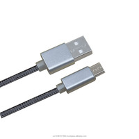 Perfect compatible micro nylon micro usb cable High demand export products