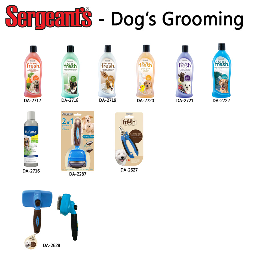 Sergeant's Dog Grooming Products