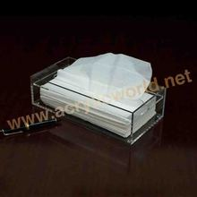 Crystal Clear Acrylic Napkin Holder/High Quality Tissue Box Design/AAcrylic Gift Box