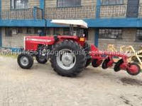 small mini tractor with plough