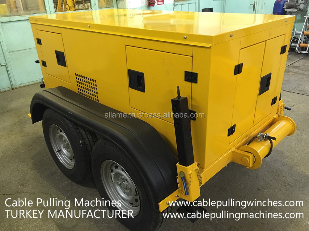 Hydraulic Cable Drum Trailers Cable Laying Equipment Manufacturer