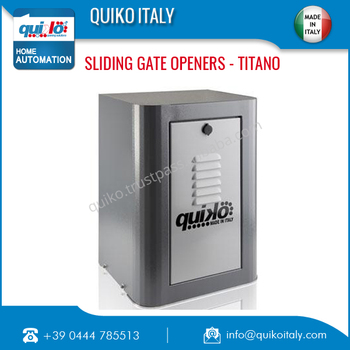 Reliable Quality Italian Electric Sliding Gate Opener at Low Cost