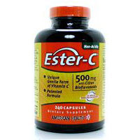 Ester-c With Citrus Bioflavonoids, 500 mg, 240 Caps by Solgar