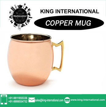 Copper Water large Copper Mug