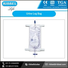 Premium Supplier of Urine Leg Bag with Easily Conducts Urine Through Drain Valve