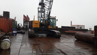 Factory supply Sany Used Mini Crawler Crane 55 ton SCC550C