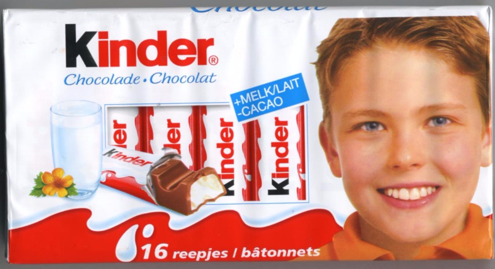 KINDER CHOCOLATE T8X10