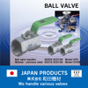T-port L-port hydraulic flow control valve KITZ Ball valve for industrial use
