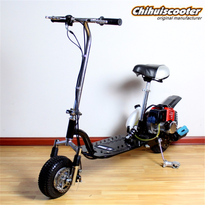 Cheap foldable 49cc gas scooter for sale gasoline scooter for Garage scooter nice