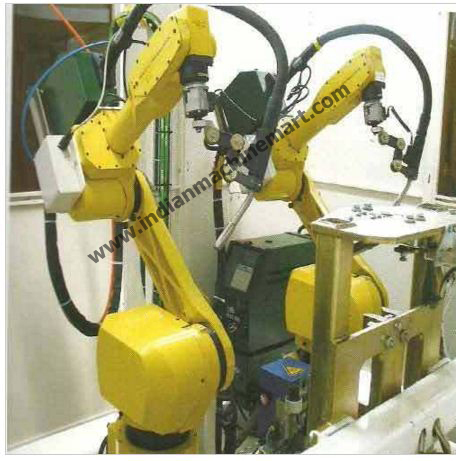 Welding Robot (Made In India) Machine for Hydraulic Cylinders/Tanks/Industrial Programable Automatic 6-Axis Mig