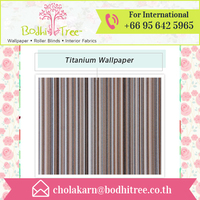 Top Grade High Quality Titanium Vinyl Wallpaper at Best Price
