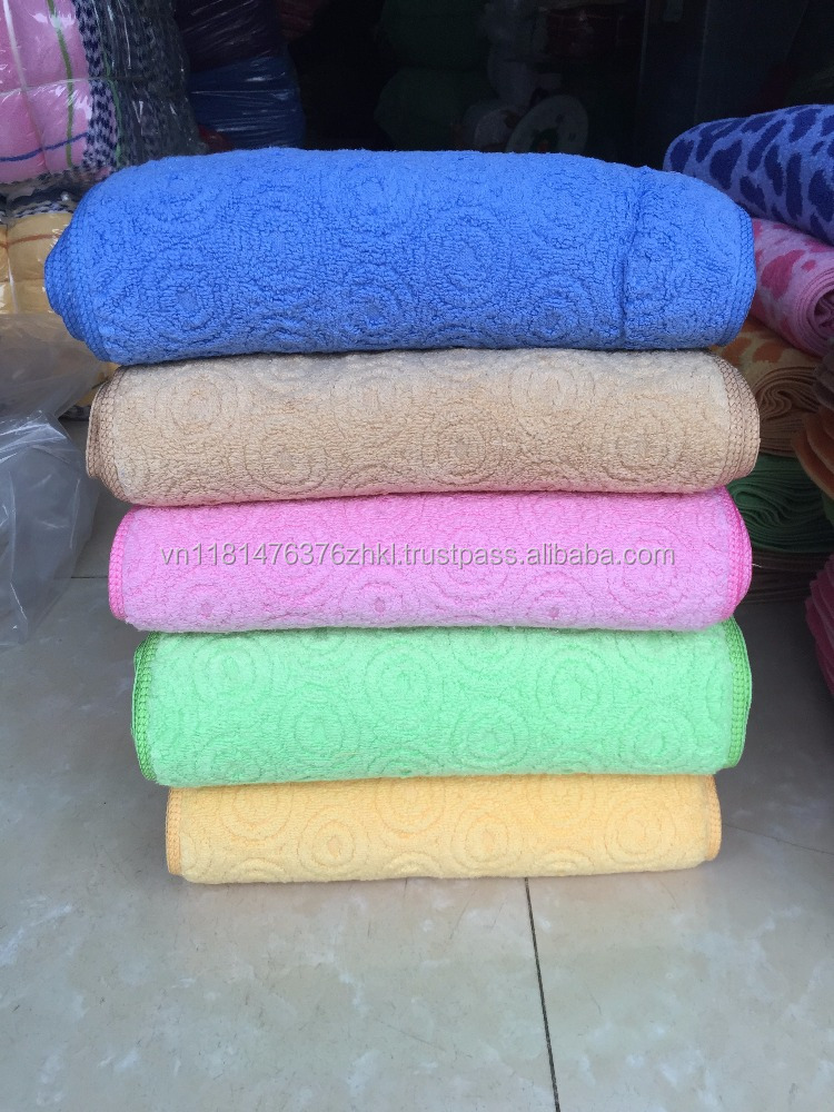 soft face towel 100% cotton