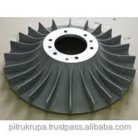 stainless steel impeller of compressor machining
