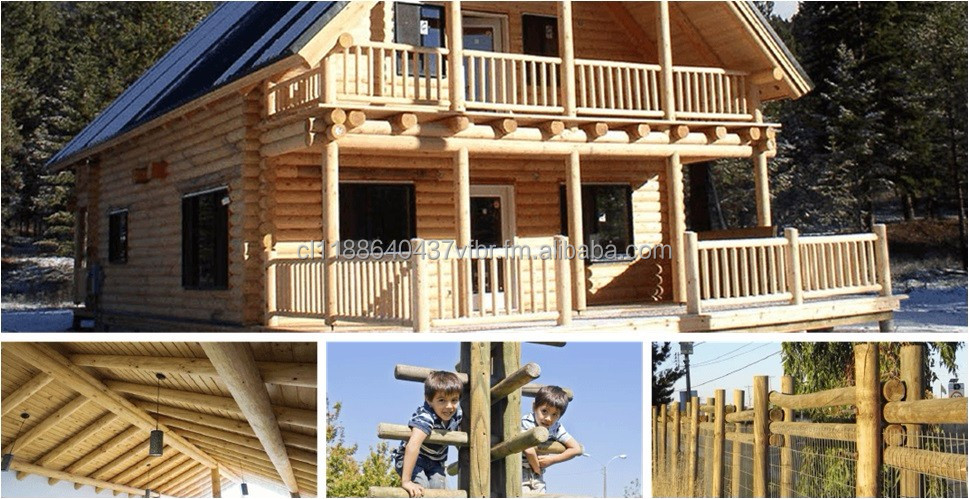 TIMBER POLES FOR CONSTRUCTION
