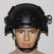 NIJ IIIA Mich Military Lightweight Kevlar Tactical Helmet us army Ballistic ACH Helmet with rails,fast suspention