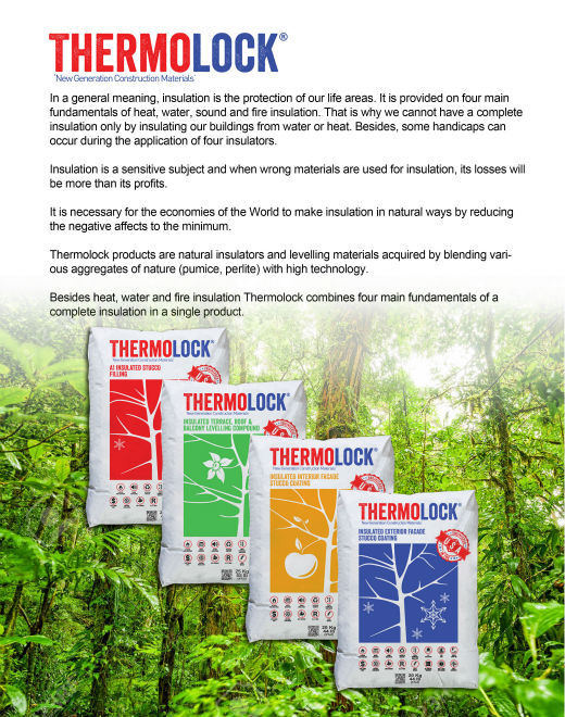 THERMOLOCK MULTIFUNCTIONAL INSULATION STUCCO & COATINGS