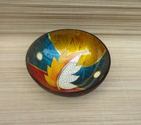 The painted bowl made in Vietnam 2017